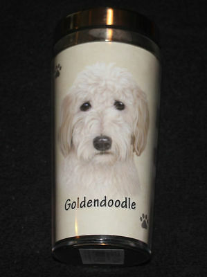 Goldendoodle Dog Stainless Steel Insulated Travel Tumbler Thermos