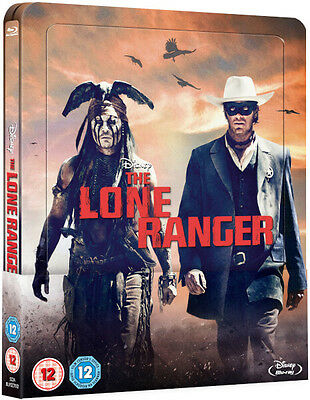 The Lone Ranger - Limited Edition Lenticular Steelbook (Blu-ray) BRAND NEW!!