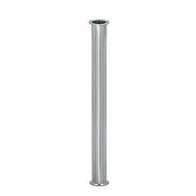 "HFS 4""x36"" Flow Sanitary HIGH GRADE Stainless STEEL 304 PIPE, LENGTH 36"""