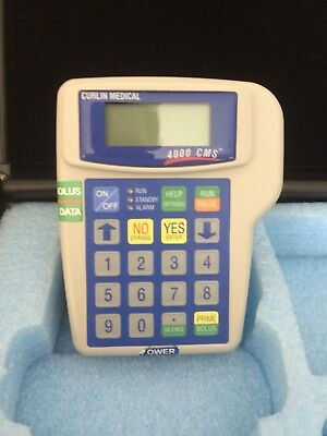 MOOG Curlin 4000 CMS Clinical Management System, IV Ambulatory Infusion Pump