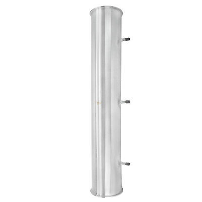 """HFS(R) 6x48"""" Flow Sanitary HIGH GRADE Stainless STEEL 304 PIPE, LENGTH 48"""""""