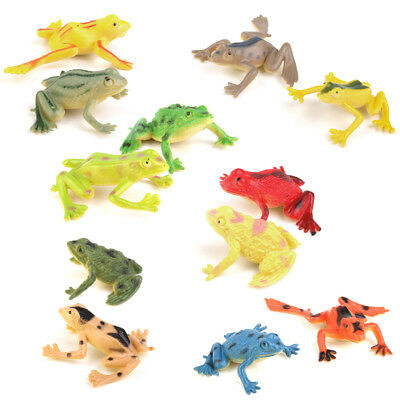 Plastic Zoo Figure Wild Animals Bugs Frog Insects Kids Toy Party Bag Favor