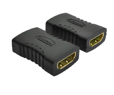 Gold-Plated High Speed HDMI Extender Female Coupler HDMI Connector 3D 4K Ready