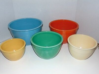 Captivating Fiestaware Nesting Mixing Bowls Gallery - Best Image ...