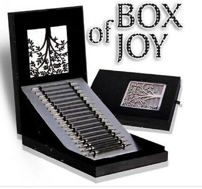 "KnitPro Knitting needle Set Special edition KARBONZ ""Box of Joy"" tips 41620"