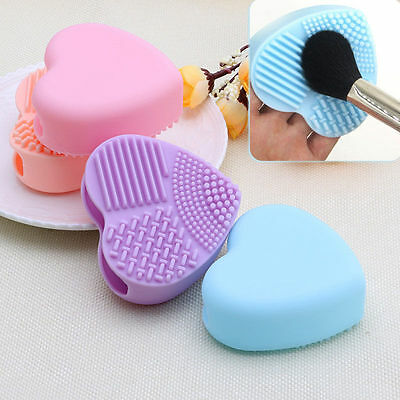 Silicone Mode OEUF NETTOYAGE GANT Maquillage Brosse de lavage Ponceuse outil