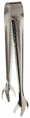 """Adcraft TBL-7 Stainless Steel Claw-Style Ice Tongs 8"""" Overall Length 1"""