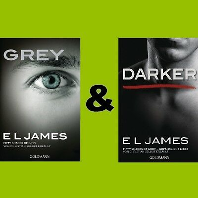 Grey - Darker - Fifty Shades of Grey 1-2 von Christian selbst erzählt -E L James