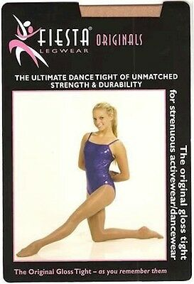 Fiesta Gloss Original Tights NEW. Shiney Dance or Aerobic tights ADULTS SIZES