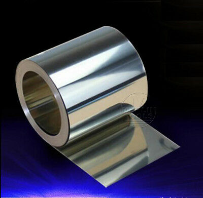 Select Thick 0.1 - 0.6mm 304 Stainless Steel Fine Plate Sheet Foil 18 20 30mm