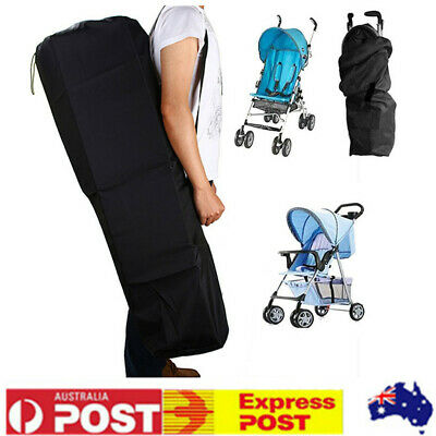Baby Gate Check Umbrella Standard Stroller Travel Bag Pram Pushchair Buggy Cover