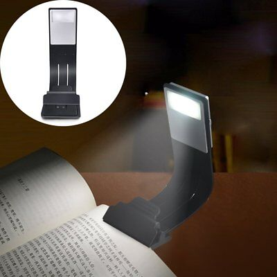 Travel Flexible USB Rechargeable LED Book Light Adjustable Clip-On Reading Lamp