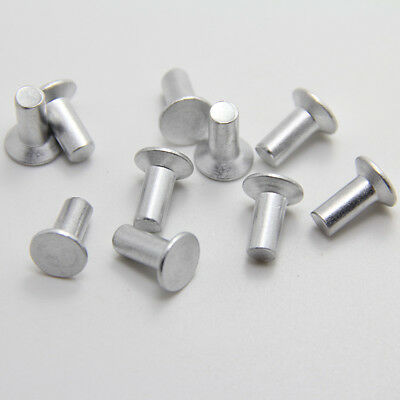 M3x(5/6/8/10-20mm) Aluminum countersunk rivets flat head solid percussion rivet