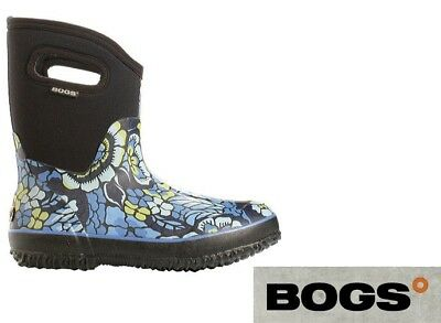 Bogs Women's Classic Mid Lanai Mid Waterproof Insulate Rain Gum Boots 52483