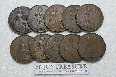 Uk Gb Penny's Collection All Different A72 Ll38