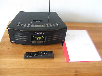 Pure Avanti Flow Internet Radio FM DAB iPod Dock Collect with Remote COLLECTION