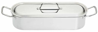 """Kitchen Craft Clearview Stainless Steel Fish Poacher. 45Cm (18"""")"""