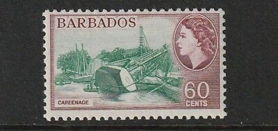 QEII BARBADOS 56 60c fresh lmm cat £40