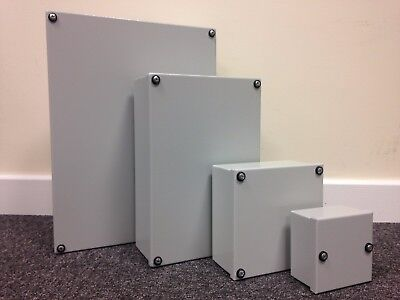 Steel Electrical Enclosure Wall Mount Junction Box 400x300x100 Tempa Pano IP55