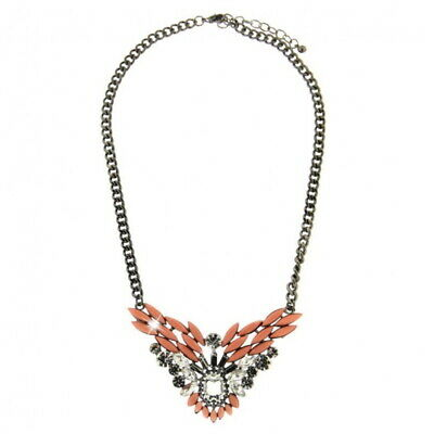 Sweet Deluxe Halskette Statement Collier Jolante crystal rose