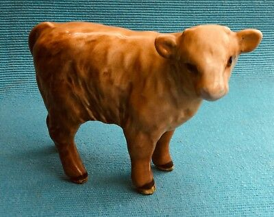 Beautiful Beswick figurine of a Charolais calf