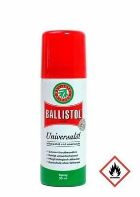 Ballistol Universalöl, Spray, 50 ml (18,16€/100ml)