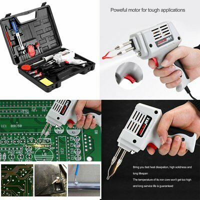 12in1 100W HEATING ELECTRIC ELECTRICAL SOLDER SOLDERING IRON GUN KIT 240V KIT SZ