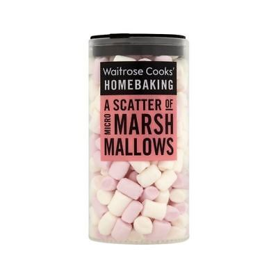 Micro Marshmallows Waitrose 25g