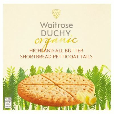 Duchy Waitrose Organic Highland All Butter Shortbread Petticoat Tails 125g