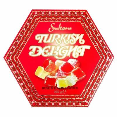 Sultans Turkish Delight Rose & Lemon Flavour (325g)