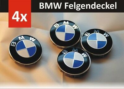 4x neu bmw 68mm nabenkappen nabendeckel felgendeckel. Black Bedroom Furniture Sets. Home Design Ideas