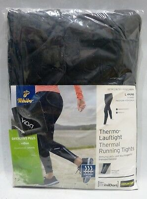 TCM Tchibo Thermo-Lauftight Thermal Running Tights Laufhosen Leggings Schwarz