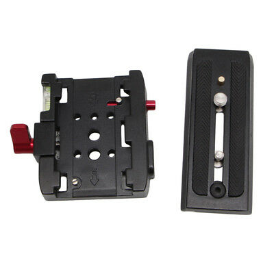 Tripod Quick Release Clamp QR Plate for Manfrotto 501 500AH 701HDV 503HDV Q5 577