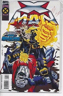 Comic Marvel, X-men Deluxe X-man, # Jun 4, The Age of Apocalypse - FREE SHIP!