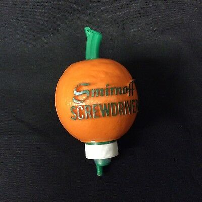 Vintage Smirnoff Vodka Crewdriver Orange Pourer