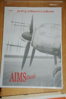 Decals - AIMS - Ju 88 G-1/Mistel S-2 Collection - 72D008