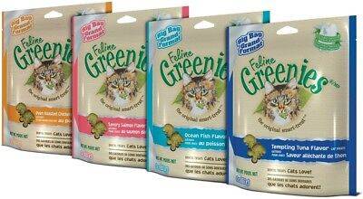 Greenies Feline Dental 5 Flavor 5.5oz  (Free Shipping)