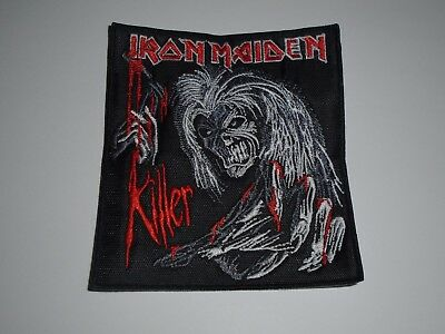 Iron Maiden Killer Embroidered Patch