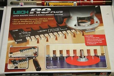 Leigh r9 PLUS Router Table & Bench Joinery System / Dovetails / Box Joints NEW