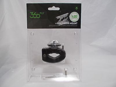 "360fly  -  Handlebar  Mount  1/4""-20 MALE  MOUNT - 360 Action Camera - Black NIP"