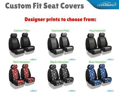 COVERKING DESIGNER PRINTS CUSTOM FIT SEAT COVERS for NISSAN LEAF