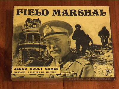 FIELD MARSHAL Jedko Games 1st EDITION (1976)-factory sealed/unopened/unused/NEW!