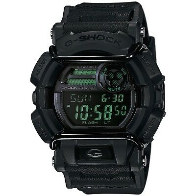 Casio G-Shock Men's Military GD-400 Watch, Black, GD-400MB-1