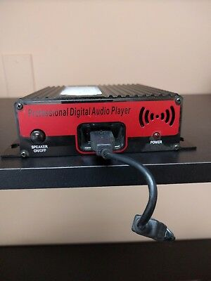 Prodigital PD-USB40 MOH Music On Hold Professional Digital Audio Player