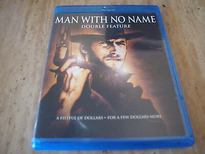 Man With No Name - Double Feature  (Blu-ray, 2011, Discs in MINT Condition)