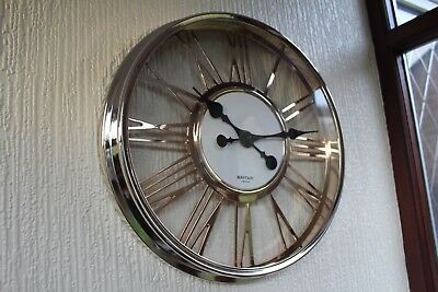 Novelty 40Cm Large Numeral Wall Clock Home Office Roman Number Wall Clock New