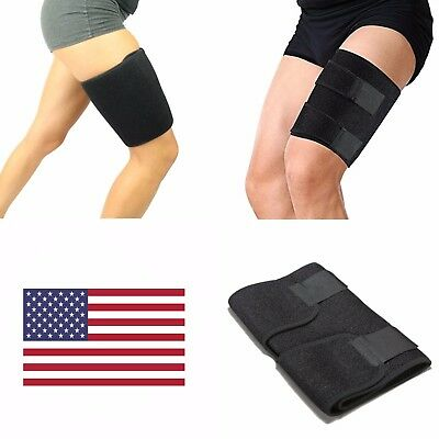 Thigh Wrap Support Compression Sleeve Brace Hamstring Groin Quad Leg Injury Pain