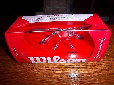 Wilson LYNX Protective Eyewear ~ New in Box