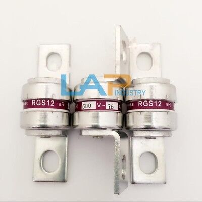 2PCS NEW For MRO Fast Acting Fuse RGS12-75A aR 75 Amp 500V Type gG (75A) #ZMI