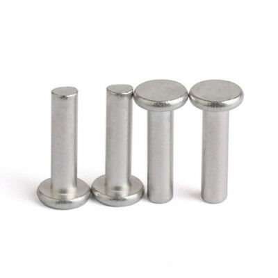M6x(8/10/12/16-50mm) GB109 Aluminum rivets flat head solid hand percussion rivet